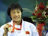 图文:柔道女子78公斤级决赛 杨秀丽拼出冠军