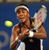 图文:网球女单四分之一决赛 大威表情异常痛苦