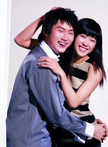 谭雪与男友王敬之被称为击剑队的金童玉女