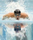 图文:男子200米混合泳 菲尔普斯当仁不让