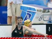 图文:斯特芬夺女100米自破纪录