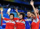 图文:女团半决新加坡3-2韩国 新加坡锁定奖牌