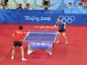 图文:女团半决中国VS中国香港 帖亚娜处于劣势