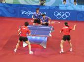 图文:女团半决中国VS中国香港 配合默契