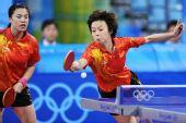 图文:中国女团挺进决赛