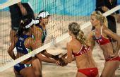 图文:沙滩排球女子16强复赛 巴西战胜挪威