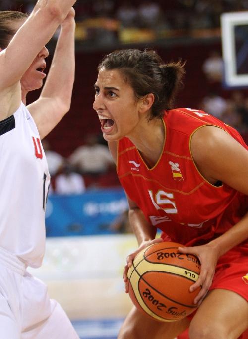 图文:美国女篮战胜西班牙