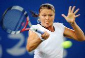 图文:网球女单萨芬娜战胜扬科维奇 狼牙五爪