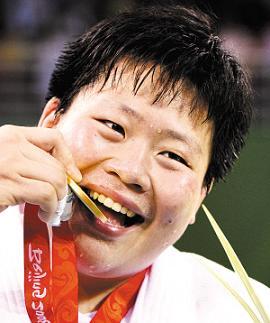 佟文和她的金牌