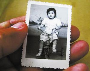 曹磊3岁时的照片