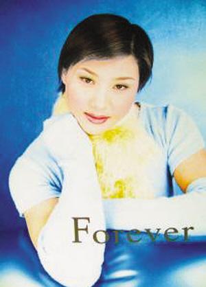 曹磊唯一一张在影楼拍摄的青春照