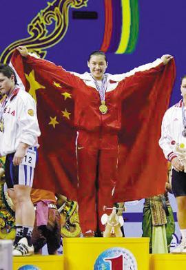 2007年举重世锦赛曹磊夺得两金一银