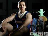 明星相册:中国举重队队员曹磊写真 可爱姑娘