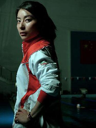 明星相册:中国跳水队队员郭晶晶 眼神犀利