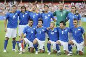 图文:意大利2-3比利时队 意大利队首发
