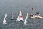 图文:奥运女子英凌级英国夺冠 美丽的帆船赛场