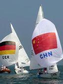 图文:女子英凌级决赛英国夺冠中国第九 扬帆