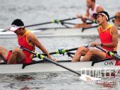 图文:赛艇轻量级双人双桨英国夺金 中国选手