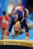 图文:女子跳马决赛 美国选手艾丽西亚