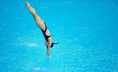 郭晶晶跳水比赛 图片合集图片