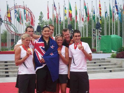新西兰队冠军