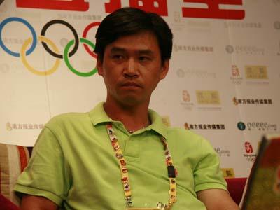 叶冲 董兆致光临奥运第1直播室第七期节目