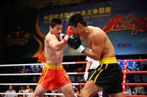 图文:功夫王80公斤级海选赛 宋大鹏vs李晓东