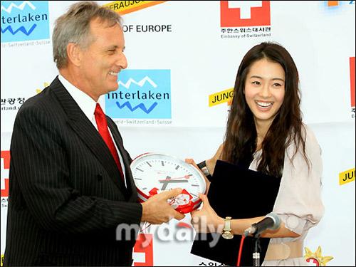 雅拉当选瑞士形象宣传大使