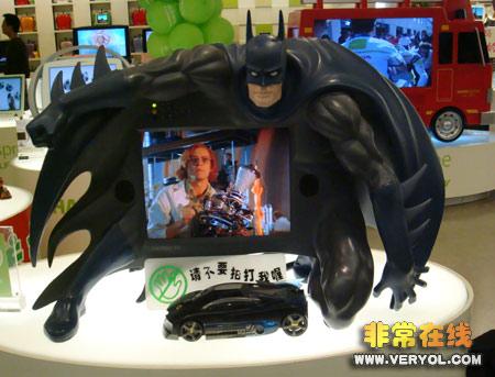 蝙蝠侠瀚斯宝丽HANNspree液晶电视
