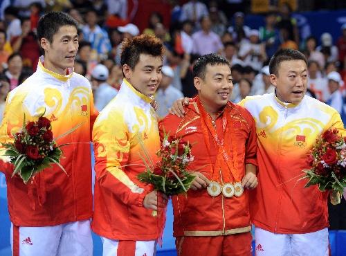 2008年北京奥运会金牌榜!(^_^中国51金21银2