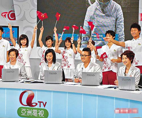 香港亚视直播郭晶晶跳水比赛