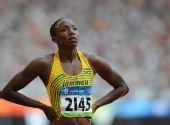 图文:奥运女子200米预赛赛况 辛普森满头金沙
