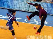 图文:女手1/4决赛中国负韩国 守门员