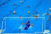 图文:女子水球中国胜意大利获第五 蓝色世界