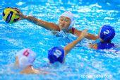 图文:女子水球中国胜意大利获第五 水上争夺