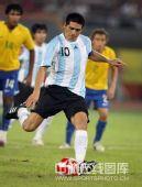 图文:男足半决赛阿根廷胜巴西 里克尔梅罚点球