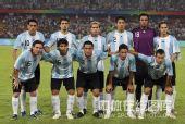 图文:男足半决赛阿根廷胜巴西 阿根廷首发阵容