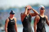 图文:奥运女子10公里马拉松 中国选手方晏乔