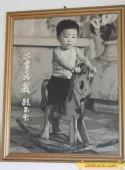 独家图:李小鹏成长历程 2岁的李小鹏