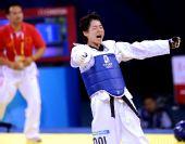 图文:吴静钰女子49公斤级夺冠 激动不已
