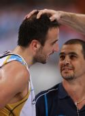 图文:阿根廷男篮挺进四强 吉诺比利投中关键球