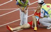 图文:男子110米栏史冬鹏无缘决赛 拼尽全力