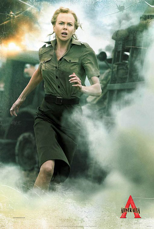 妮可奔跑于战火之中