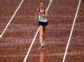 图文:奥运会女子20公里竞走赛况 雨中走来