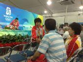 图文:运动员委员会发布会现场 邓亚萍出席