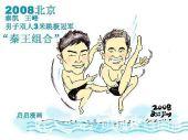 冠军画像:国家跳水队王峰/秦凯 秦王组合