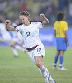 图文:女足美国队夺冠 美国队球员劳伦·切尼