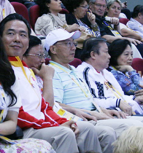 体育总局领导助威中国女篮
