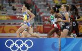 图文:女子1500米第一轮赛况 乌克兰选手伊琳娜