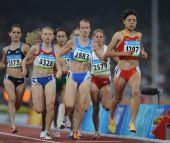 图文:女子1500米刘青无缘决赛 获得小组第九
